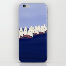 In May, May's Regatta - shoes stories iPhone Skin