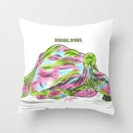 Delta Zeta Pearl Throw Pillow