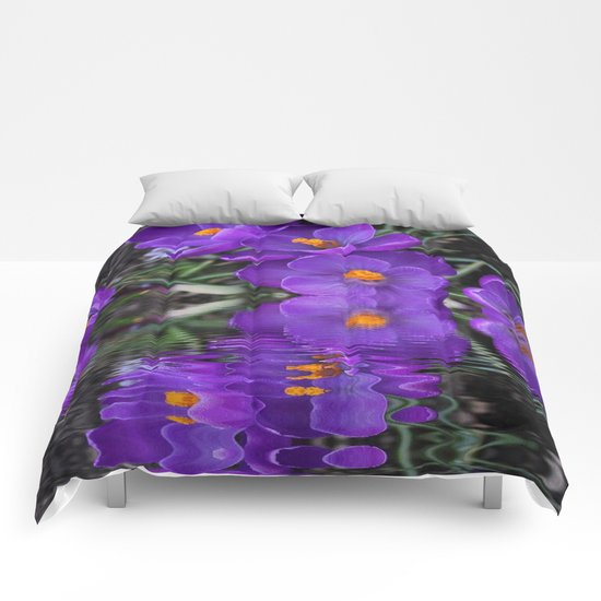 Crocus Reflections Comforters