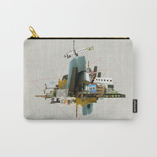 Collage City Mix 3 Carry-All Pouch