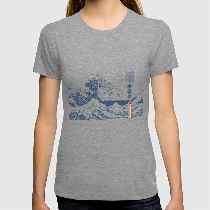 Hokusai - Big Wave of Kinagawa T-shirt