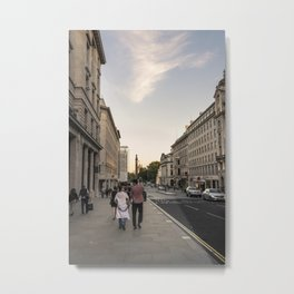 Sunset in London Metal Print