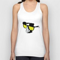marx Tank Tops featuring Groucho Marx by Michelle Eatough