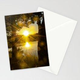 Sunset Flare Stationery Cards