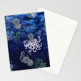 Rolex DeepSea UnderWater Illustration Stationery Cards