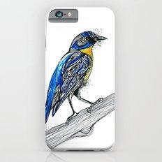 Bird Inspiration: Tickell's Blue Flycatcher iPhone 6s Slim Case