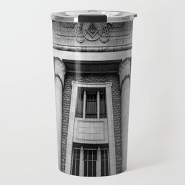 Salt Lake City Masonic Temple - Utah Travel Mug