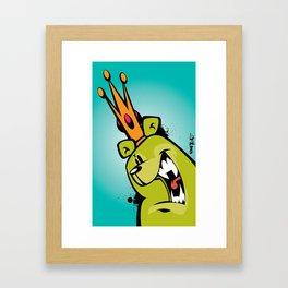 illsurge : King Of The Bombing Bears (2) Framed Art Print
