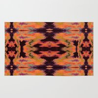 kilim Area & Throw Rugs featuring Azra Kilim by Nina May Designs