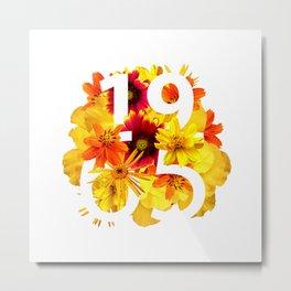 Flower 1965 Metal Print