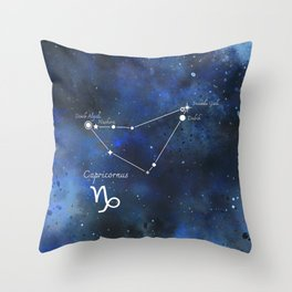 Capricornus Throw Pillow