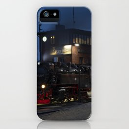 Wernigerode Night Steam  iPhone Case