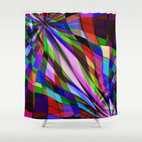 planes Shower Curtains featuring Curved Planes by Another Coat