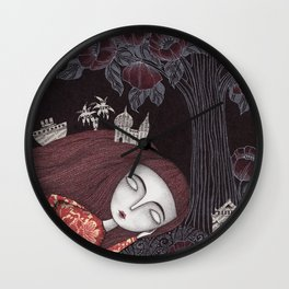 Tree of Forever Dreams Wall Clock