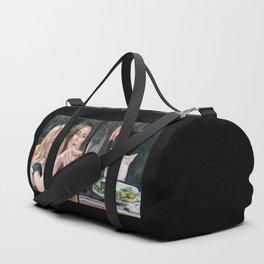 Woman Yelling at Cat Meme-3 Duffle Bag