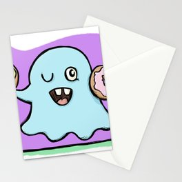 Is That More Food? The Elusive Donut Ghost. Stationery Cards