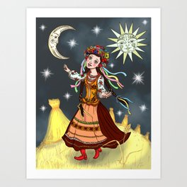 Slavic Rhapsody Art Print