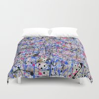 trip Duvet Covers featuring TRIP by Art Book Of  Amanda