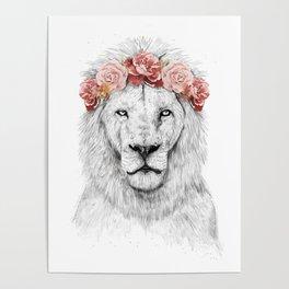 Festival lion Poster