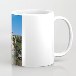 Old cathedral and bridge in Beziers, southern France Coffee Mug