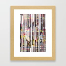 Lines 3 Framed Art Print