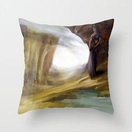Oasis Throw Pillow
