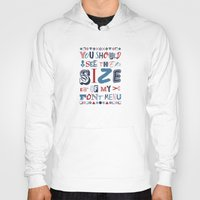 font Hoodies featuring Font Menu by Word Quirk