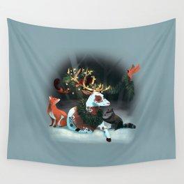 Holiday Spirit Wall Tapestry