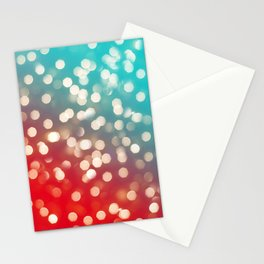 Lights & Gradients III Stationery Cards