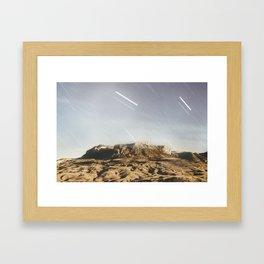 Meteor  Framed Art Print