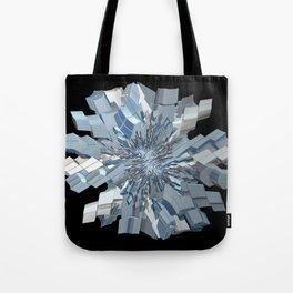 Fractal Snowflake Tote Bag