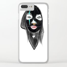 Face Makeup Clear iPhone Case