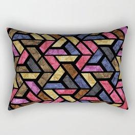 Seamless Colorful Geometric Pattern XIII Rectangular Pillow