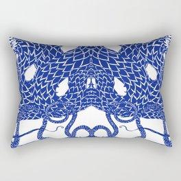 Blue Double Rectangular Pillow