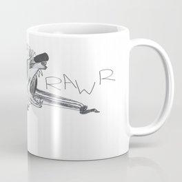 Roaring Bat Coffee Mug
