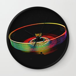 Carnival Spin Top Wall Clock