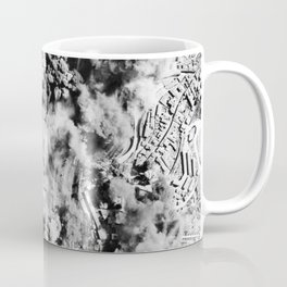 Allied Aerial Bombardment - WW2 Italy - 1943 Coffee Mug