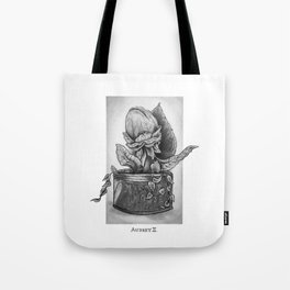 Audrey II. Little Shop of Horrors Tote Bag