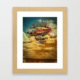 Dirigible Framed Art Print
