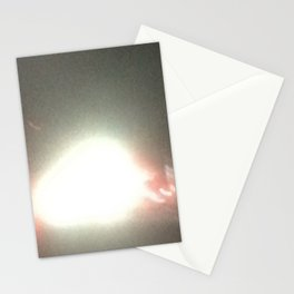 Abstracte Light Art in the Dark 14 Stationery Cards