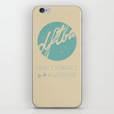 DFTBA iPhone & iPod Skin