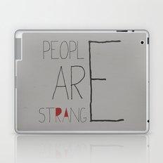People Are Strange Laptop & iPad Skin