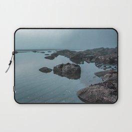 Fog Over Wreck Beach Laptop Sleeve