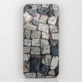 Lisbon's cobble iPhone Skin