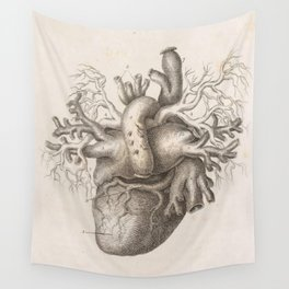 The Back Of The Heart Wall Tapestry