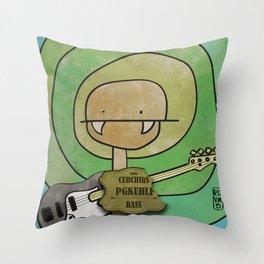 Pgkhlf from Cerchiks (Bass) Throw Pillow