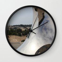 Anish Kapoor's sculpture, Israel Museum, Jerusalem Wall Clock
