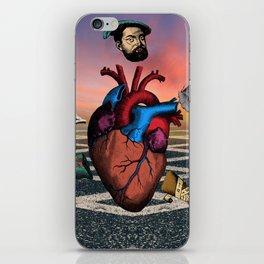 Heart Running iPhone Skin