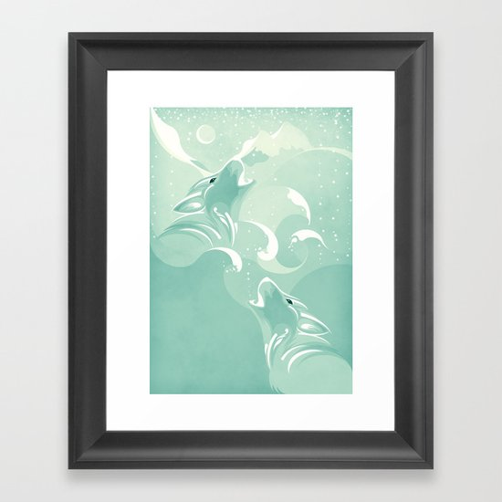 Tale to Tell Framed Art Print