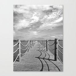 Cast your shadow Canvas Print